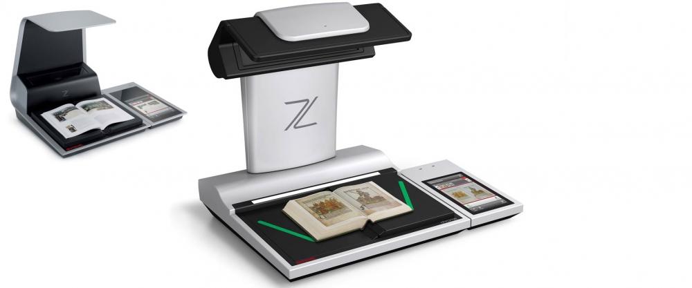 Scanner de digitalização documentos antigos