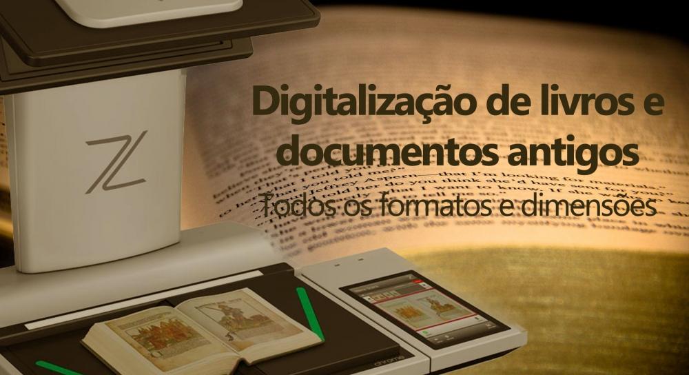 Digitalização livro antigo